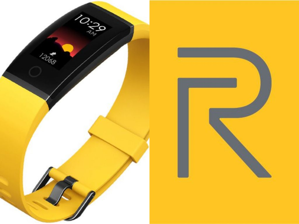 Realme logo and realme yellow band