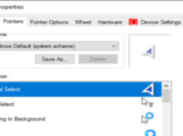 7 simple steps to chnage your mouse cursor
