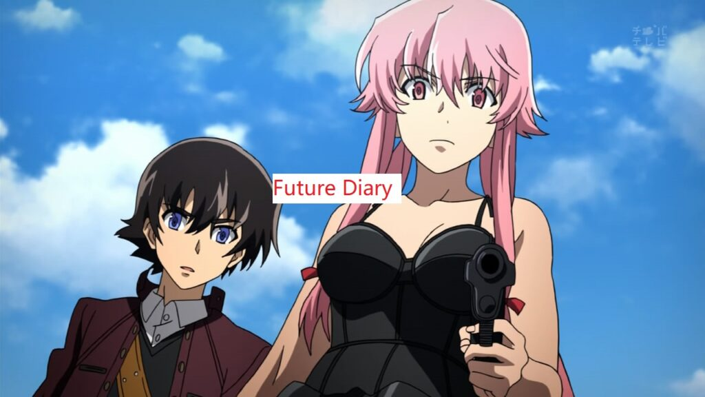 9: Future Diary this anime shown fiture what happen in