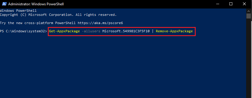 type the give command and paste in on windows powershell