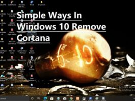 Simple Ways In Windows 10 Remove Cortana