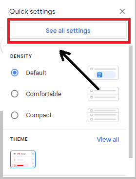 AND AGAIN YOU TAP ON SEE ALL SETTINGS How to add signature on Gmail