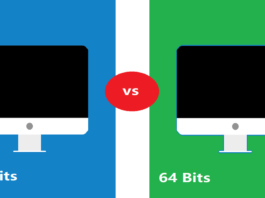 Difference between 32 and 64 bits