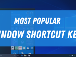 Window Shortcut Keys